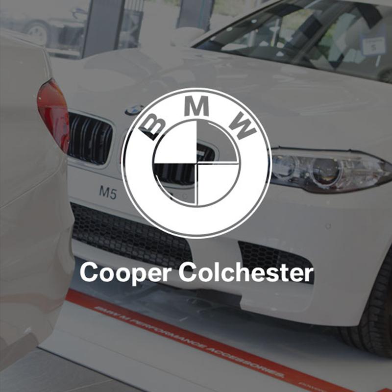 Cooper Colchester BMW eGift Voucher